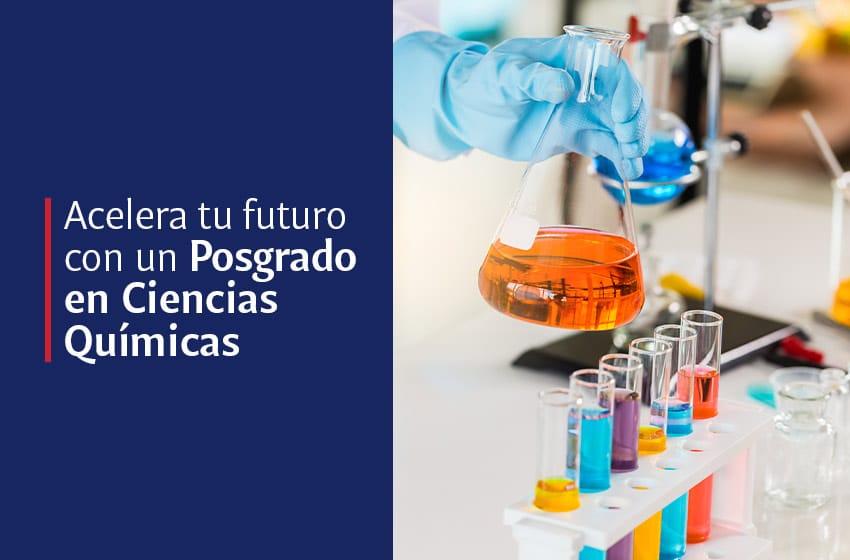 posgrado en ciencias químicas
