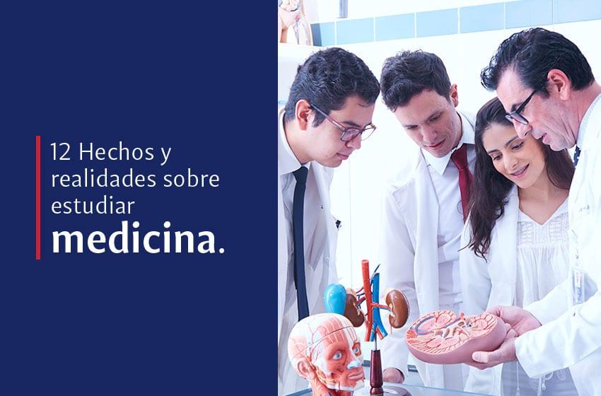 12 realidades sobre estudiar medicina