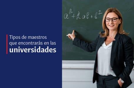 8 tipos de profesores universitarios
