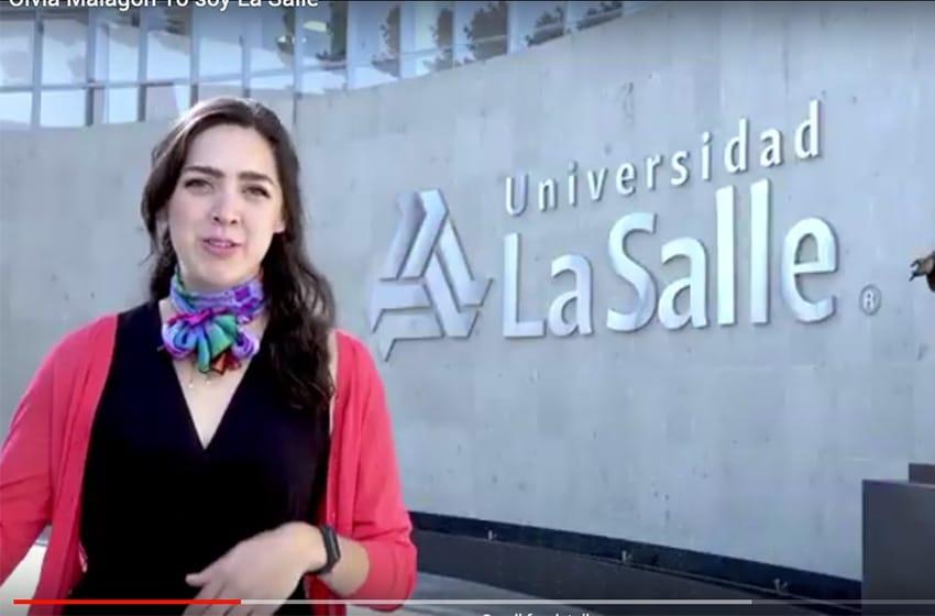 Olvia Malagón #YoSoyLaSalle