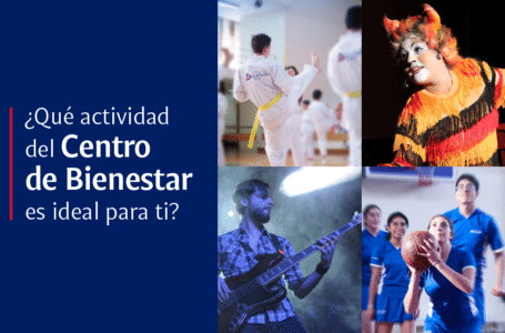 Quiz: ¿Qué actividad del Centro de Bienestar es ideal para ti?