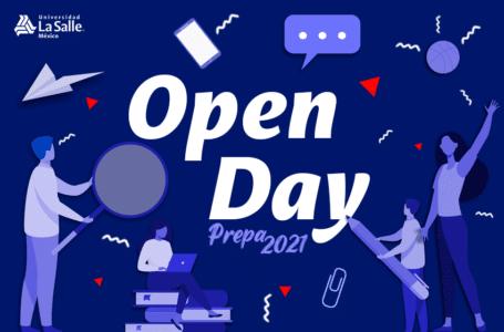 Inicia un camino de valores, sé parte del Open Day Prepa 2021
